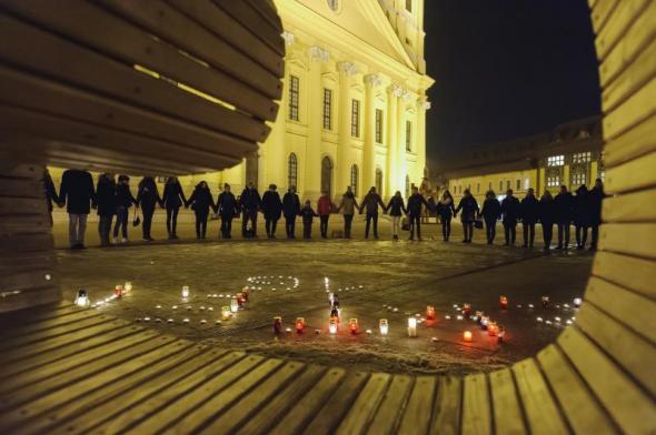 Gyász Debrecenben is
