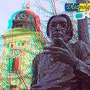 Szabó Lőrinc szobor 3D-ben