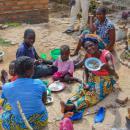 Nagy a szegénység, de boldogan élnek  Fotók: Asztalos Ilona