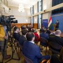 Sajtótájékoztató   Fotó: Miskolczi János