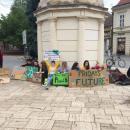 Budapest mellett nyolc vidéki városban volt megmozdulás