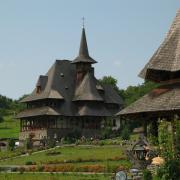 A kolostor egyik épülete