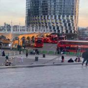 Stratford buszvégállomás  Fotó: Magánarchívum és Internet