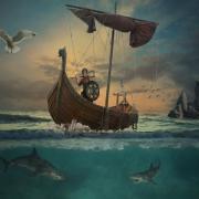 Így néztek ki a korabeli viking hajók