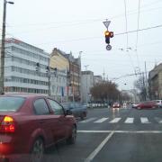 A Kossuth utcai kereszteződés