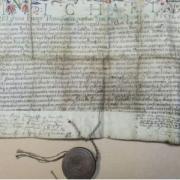 Apafi Mihály székely nemesi oklevele Nyarasdi Nagy Márton részére kiállítva 1671-ben - a kikiáltási ára 400 ezer forint volt