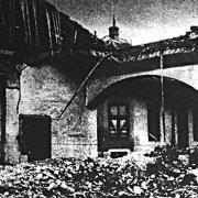 A bombázás után
