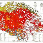 A vörös térkép, amely a magyarság elhelyezkedését ábrázolta
