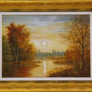 Barta Mária festménye
