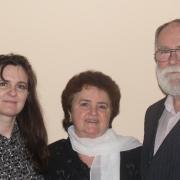 Gyöngyi, Gizella és Zoltán