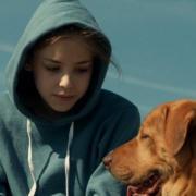 A főszereplő Lili és a kutyája