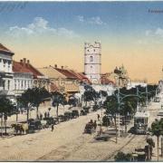 A mai Piac utca valamikor Ferenc József utca volt