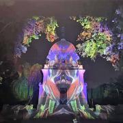 Ritka látványt nyújtott a megvilágított Deák mauzóleum  Fotók: http://intezet.nori.gov.hu/