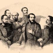 Kossuth és társasága