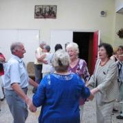 Táncoló nyugdíjasok