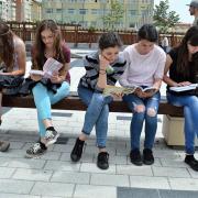 Olvasó flashmob, sokan csatlakoztak hozzájuk