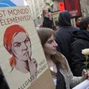 Tüntető pedagógusok