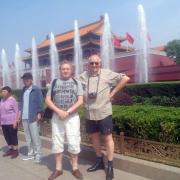 Pinczés István autentikus kínai környezetben