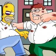Két rajzfilm főszereplője öli egymást - ne nézessük a gyerekeinkkel!