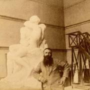 Rodin és a készülő csók