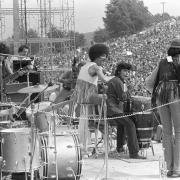 A színpadon: Santana