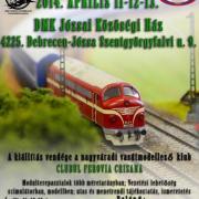 Vasúti modellek bemutatója