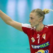 Karina Jezsikava visszatér  Fotó: dvsckezilabda.hu