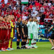 A mérkőzés előtt  Fotó: mlsz.hu