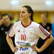 Anna Punko visszatért a pályára, ám ez sem volt elég  Fotó: DVSC