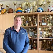 Becsky István és a sportsikerek  Fotó: Barna Marci