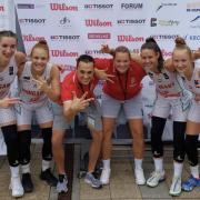 A magyar lányok a harmadik helyen végeztek  Fotók: Debreceni Sportcentrum