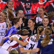 Győzelmi öröm  Fotó: Czeglédi Zsolt (MTI)