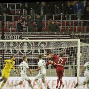 A harmadik gól   Fotó: dvsc.hu