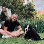 Réka és hű kutyája