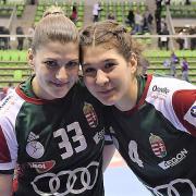 Tóvizi Petra és Kovács Anna is hasznos tagja volt a válogatottnak  Fotó: MKSZ