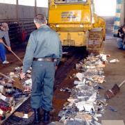 Hamis termékek megsemmisítése