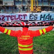 Tiszteletet érdemelnek  Fotó: Ultras Debrecen