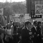 Budapest Felvonulás tér 1974. április 4.