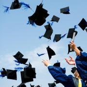 A diplomaosztó öröme