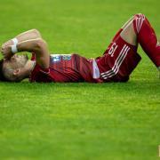 Jurij Haborda - fájdalmas döntetlen  Fotó: DVSC