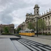 A főváros egyik szép arca, a Parlament környéke