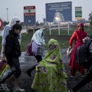 Menekültek, vagy bevándorlók az osztrák határnál