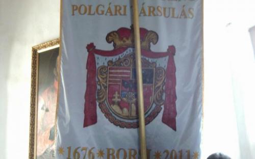 A Rákóczi szabadságharc egy zászlaja