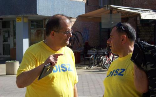Dr. Dobrossy István és Szabó Sándor