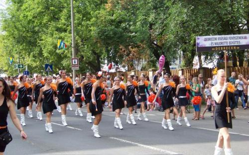 Debreceni Ifjúsági Fúvószenekar és Majorette Együttes