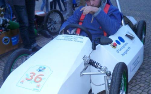 Az idei második helyezett autó