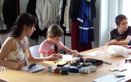 Gyerekfoglalkoztató a múzeumban