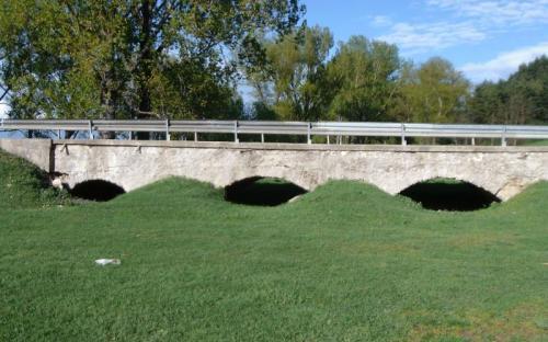 Hídvégardói híd átereszei