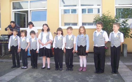 A Talentum iskola elsősei