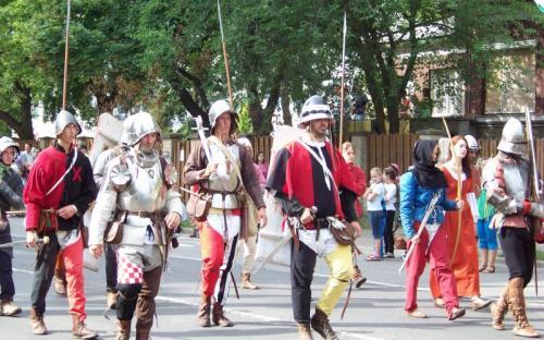 Középkori harcosok